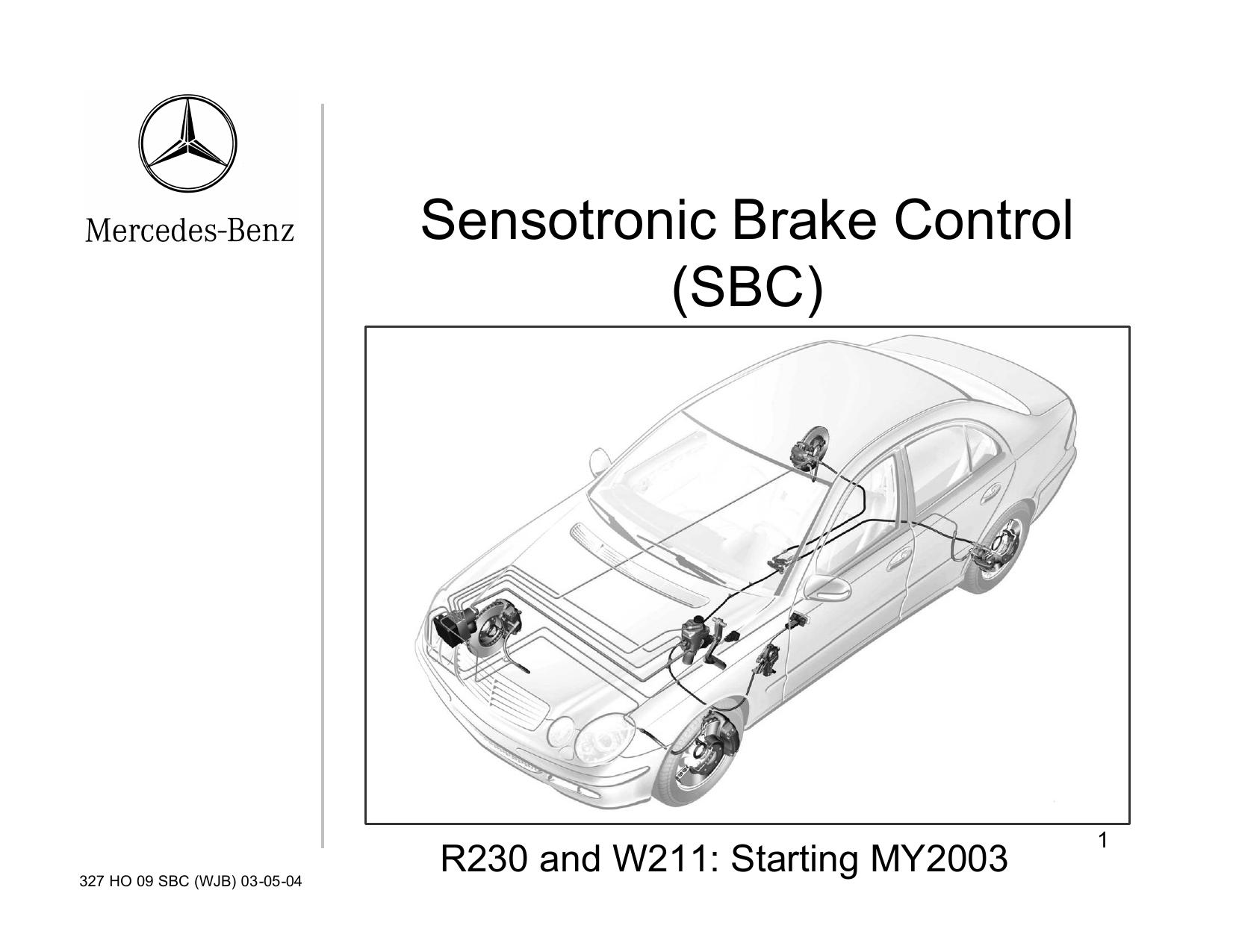senotronic braking system